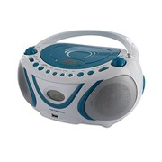METRONIC RADIO CD MP3 WAVE AZUL/BRANCO