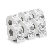 ZEBRA ROLO ETQ. LABEL ROLL, Z-SELECT 2000T NORMAL PAPER 76X51MM 6 ROLOS
