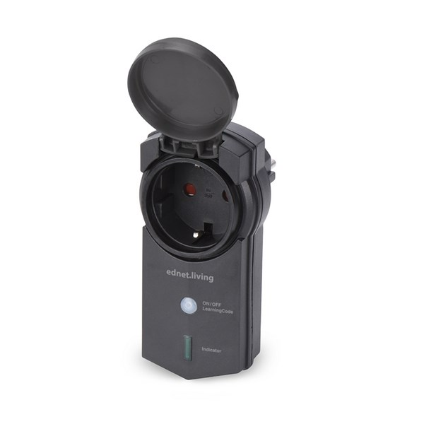EDNET POWER TOMADA INTELIGENTE OUTDOOR IP44 CONTROLO VIA WIRELESS