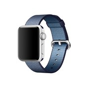APPLE BRACELETE 42MM MIDNIGHT BLUE WOVEN NYLON