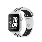 APPLE WATCH NIKE+ GPS 42MM SILVER ALUMINIUM CASE PURE PLATINUM/BLACK NIKE SPORT