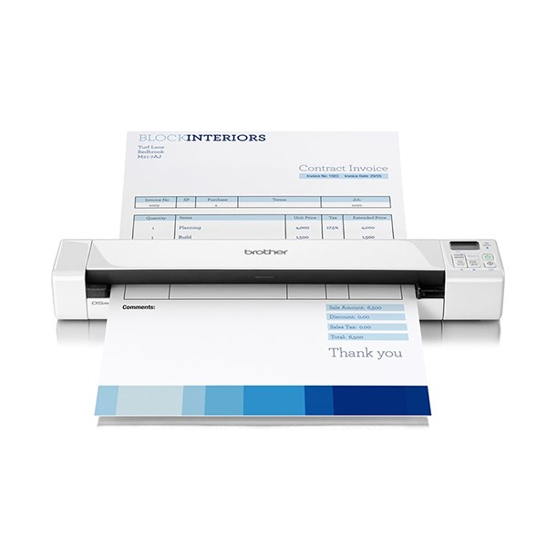 BROTHER SCANNER PORTATIL A4 CORES DS820W