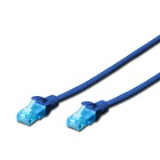 DIGITUS CHICOTE CAT5E UTP PVC 2MT AZUL