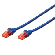 DIGITUS CHICOTE U/UTP CAT6 PVC AZUL - 5MT