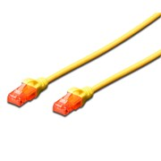 DIGITUS CHICOTE U/UTP CAT6 PVC 5MT AMARELO