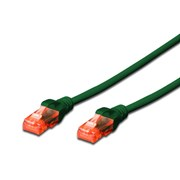 DIGITUS CHICOTE UTP CAT6 LSZH 1MT VERDE