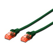 DIGITUS CHICOTE UTP CAT6 LSZH 3MT VERDE