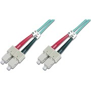 DIGITUS FIBER OPTIC MULTIMODE PATCH CORD OM 3 SC/SC