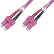 DIGITUS CHICOTE FIBRA MULTIMODE 50/125 SC/SC OM4 - 10MT
