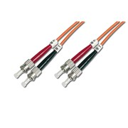 DIGITUS CHICOTE FIBRA MULTIMODE 62,5/125 ST-ST - 1MT