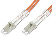 DIGITUS CHICOTE FIBRA DPX MULTIMODE 62.5/125 LC/LC OM1 - 1MT