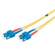 DIGITUS CHICOTE FIBRA DUPLEX SINGLE MODE 09/125 SC/SC OS2 - 3MT