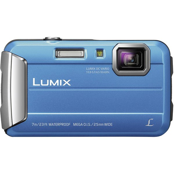 PANASONIC LUMIX DMC-FT25 16MP 4x ZOOM BLUE