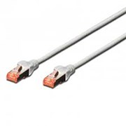 EWENT CHICOTE PATCH CABLE CAT6 S/FTP GREY - 5MT