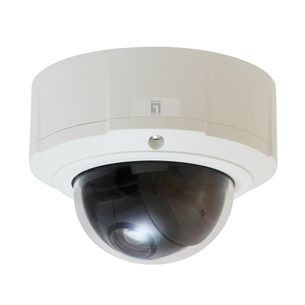 LEVELONE CAM IP PTZ DOME OUTDOOR, IP67, DAY/NIGHT