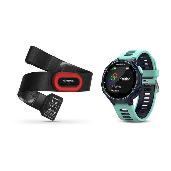 GARMIN GPS CORRIDA RELOGIO FORERUNNER 735XT RUN BUNDLE BLUE
