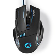 NEDIS MOUSE GAMING WIRED ILLUMINATED 4000 DPI 8 BUTTONS