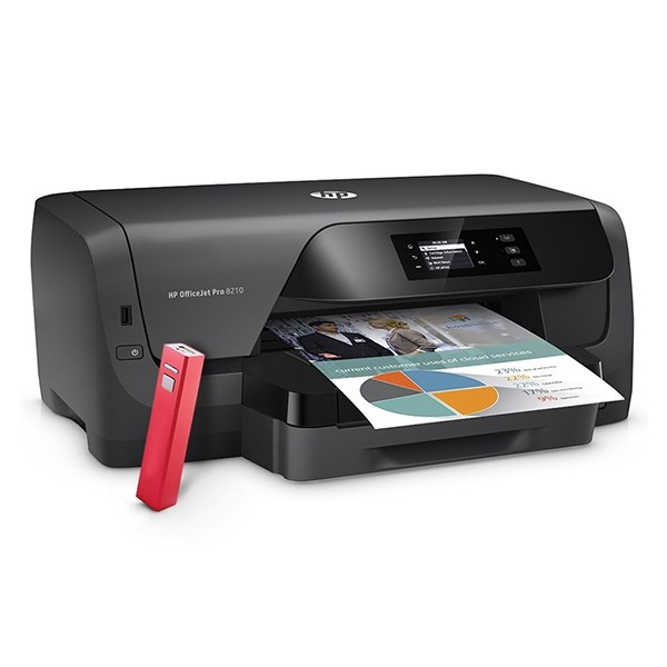 HP IMP JATO TINTA OFFICEJET PRO 8210 PRINTER #CHANNEL MAIO#