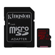 SD KINGSTON 128GB MICRO SDXC UHS-I CLASS U3 90MB/S READ/ 80MB/S WRITE C/ADAP
