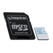 SD KINGSTON 32GB MICRO SDHC UHS-I U3 ACTION CARD 90R/45W C/ADAPT