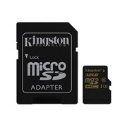 SD KINGSTON 32GB MICRO SDHC CLASS U3 UHS-I C/ADAPT