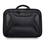 "PORT MALA P/ PORTATIL MANHATTAN CLAMSHELL BLACK 14""-15.6"""