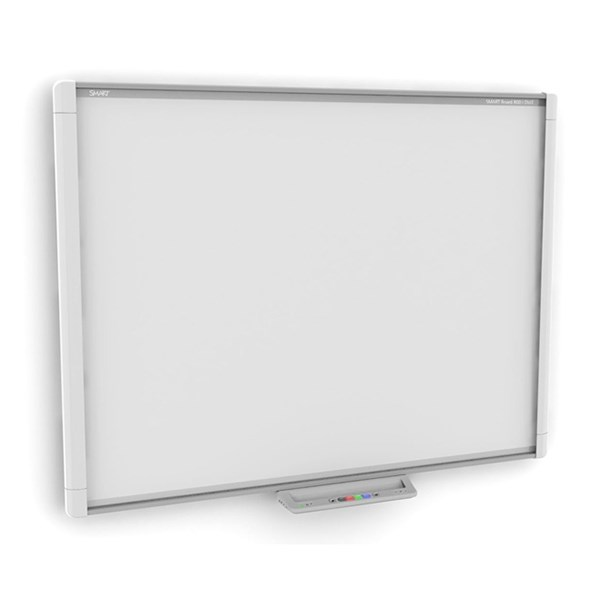 SMART BOARD M680 QUADRO + VIDEOPROJECTOR OPTOMA -  X319UST