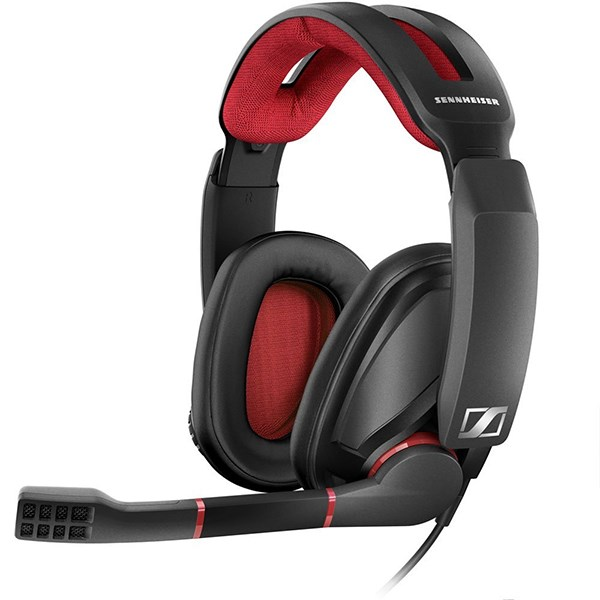 SENNHEISER HEADSET GAMING GSP350 7.1 PC RED/BLACK