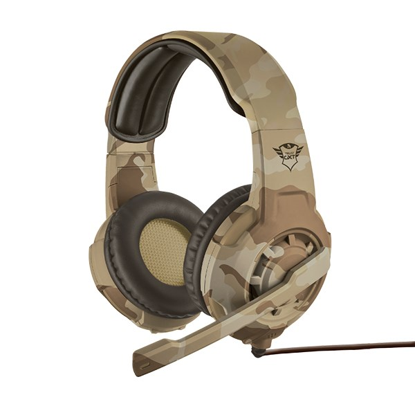 TRUST HEADPHONES GAMING GXT310C DESERT CAMO PC/PS4/XBOX