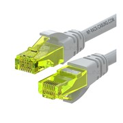 WP RACK CHICOTE PATCH CABLE CAT6 UTP AWG 26/7 GREY - 1MT